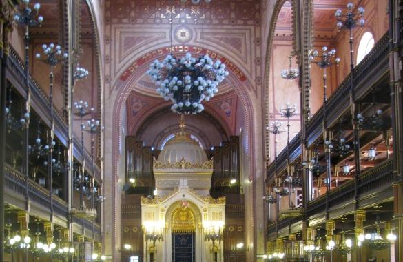 Dohany synagogue-Budapest-AACI Kosher Travel
