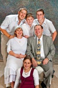 London family photo